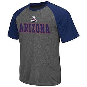 Mens NCAA Arizona Wildcats Short Sleeve Tee Shirt (Heather Charcoal) - S