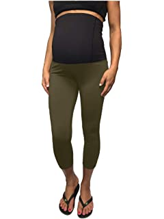 8fcd08e79f438 Ingrid & Isabel Womens Maternity Activewear - Workout Capri with ...