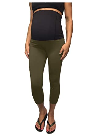 a91badb85038f CLOYA Women's Maternity Active Capri Pant at Amazon Women's Clothing store: