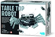 4M 5576 Table Top Robot - DIY Robotics Stem Toys, Engineering Edge Detector Gift for Kids & Teens, Boys &a
