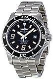 Breitling Men's A1739102/BA79 Superocean Black Dial Watch, Watch Central