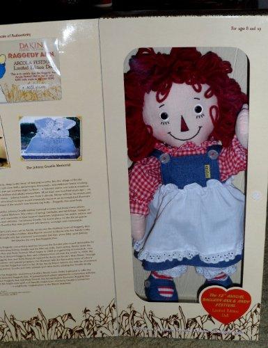 Raggedy Ann Limited Edition - Raggedy Ann Arcola Festival Limited Edition Doll