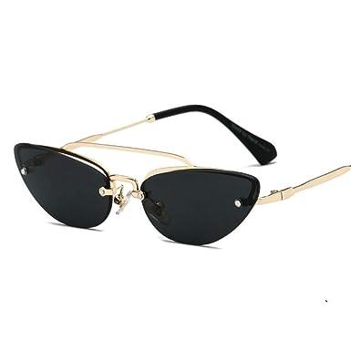 7d9fa8c2ec2d Women Fashion Vintage Small Cat Sun Glasses Ladies Outdoor Personality  Eyewear Green Yellow 2018 (black): Amazon.co.uk: Clothing