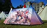 FieldCandy Limited Edition Iron Maiden The Trooper 2-3 Person Camping Tent