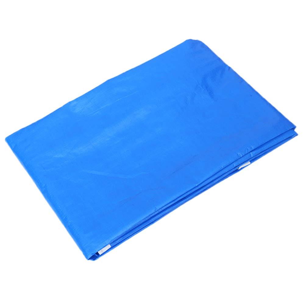 Verdickung Im Freien Regen Tarp Sonnenschutz Sonnenschirm Verschleißfeste Blaue PE Plane Truck Cover Tuch