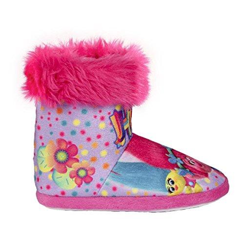 Trolls , Chaussons pour fille différents coloris multicolore