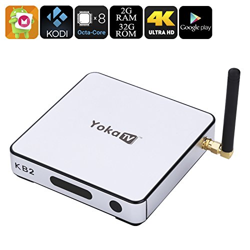 Generic Yoka Tv Kb2 Amlogic S912 Tv Box - Android 6.0, 4K, Google Play, Kodi 17.0, Octa-Core Cpu, Mali-T820Mp3 Gpu