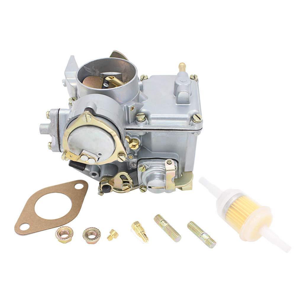 Semoic Carburatore per Auto 34 Carburatore PICT-3 12V Elettrico per Beetle 113129031K
