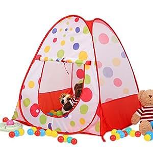 Amazon Com Buringer Children Kids Play Tent Castle Pop Up
