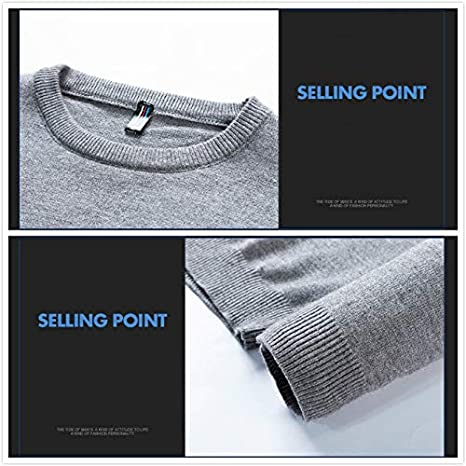 Ocean Pacific Casual Sweater Mens Round Neck Slim Fit Slim Knit Sweater