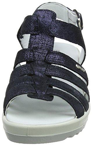 Igi&Co Dcy 11738, Sandales Bout Ouvert Femme Bleu (Navy 44)