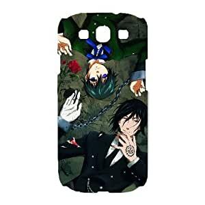 Samsung Galaxy S3 I9300 Cover Cell phone Case Black Butler Jhzit Plastic Durable Cases