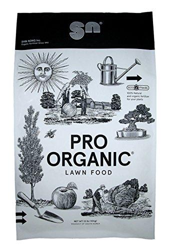 Shin Nong PRO ORGANIC Lawn Fertilizer, 100% Organic, 22lb (Granular)