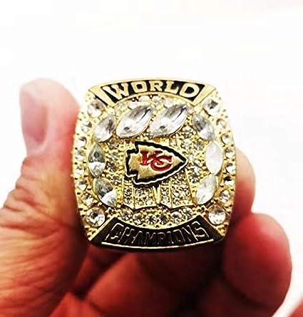 RECHIATO 2019-2020 Chiefs Super Bowl LIV Ring Kansas City Fans Championship Rings