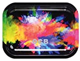 OCB Metal Rolling Tray - Holi (Small)