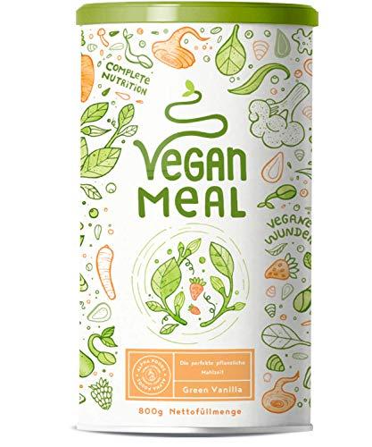 VEGAN MEAL | Green Vanilla | Der nährstoffdichte pflanzliche Mahlzeitersatz | Gemüse, Obst, Protein, Vitalpilze und…