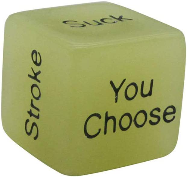 Wiivilik 4Pcs Romantic Novelty Game Dices Role Playing Funny Gift for Valentines Day Newlyweds dice