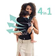 LÍLLÉbaby 4 in 1 ESSENTIALS All Seasons Baby Carrier, Circle of Love