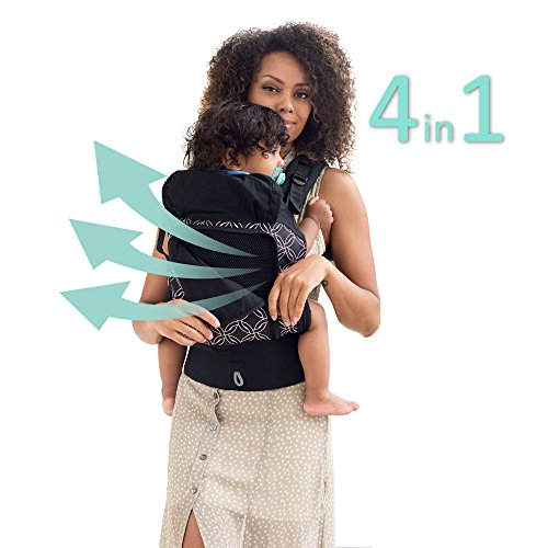 4in 1 Cargo - LÍLLÉbaby 4 in 1 ESSENTIALS All Seasons Baby Carrier, Circle of Love