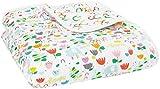 aden + anais Zutano Dream Blanket, 100% Cotton Muslin, 4...