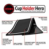 CupHolderHero for Honda Civic Accessories 2016-2020 Premium Custom Interior Non-Slip Anti Dust Cup Holder Inserts, Center Console Liner Mats, Door Pocket Liners 21-pc Set
