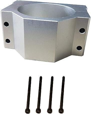 F Fityle 65mm CNC-Spindelhalterung Klammer Spindelhalter Spindelaufnahme f/ür Graviermaschine