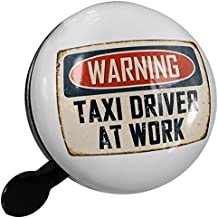 Small Bike Bell Warning Taxi Driver At Work Vintage Fun Job Sign - NEONBLOND