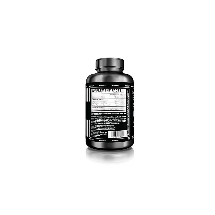 KAGED MUSCLE, Clean Burn Stimulant Free Weight Loss Supplement for Men & Women, 180 Veggie Diet Pills