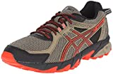 Cheap ASICS Men's GEL Sonoma 2 Running Shoe, Bark/Orange/Black, 6.5 M US