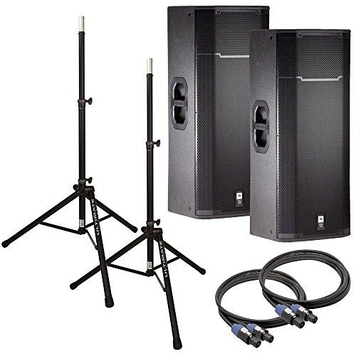 JBL PRX425 Dual 15 in Passive PA Speakers Bundle - Buy