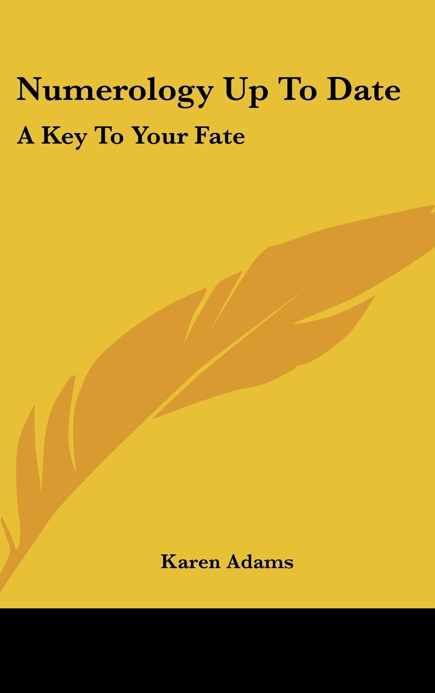 Download Numerology Up To Date: A Key To Your Fate pdf epub