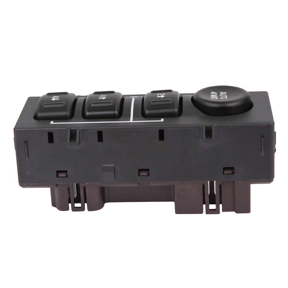 19259313 4WD 4x4 Wheel Drive Selector Switch Transfer Replacement for Chevy Silverado Chevrolet Suburban Avalanche Tahoe GMC Yukon Sierra 5136039 15164520 901-072