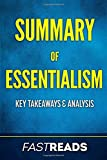 Summary of Essentialism