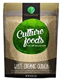 Culture Foods The Finest Organic Quinoa Peruvian Whole Grain 5 Piece Value Pack, 80 oz