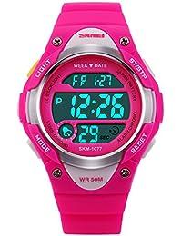 Boys Girls Multifunction Fashion Digital LED Sports Wrist...