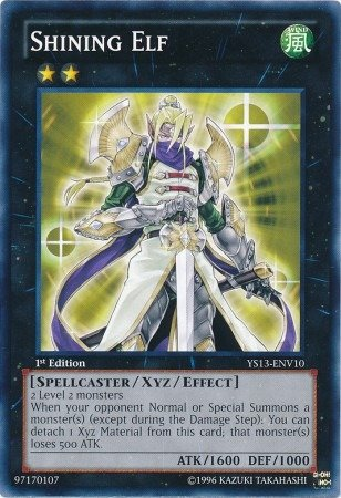 Yu-Gi-Oh! - Shining Elf (YS13-ENV10) - Super Starter Power-Up Pack - 1st Edition - Common