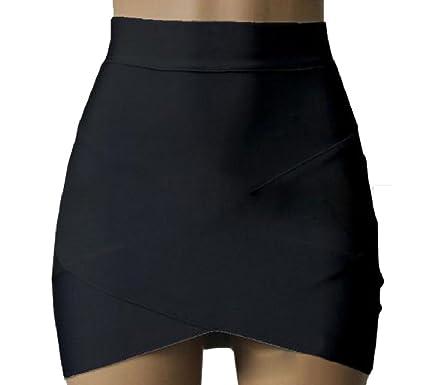 ANDYOU-Women Estrecha Sólido atractivo color Clásicos una línea de ...