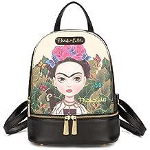 Frida Kahlo Cartoon Licensed Cute Backpack