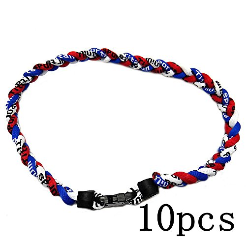 10pcs Red White Royal Blue Titanium Tornado Baseball