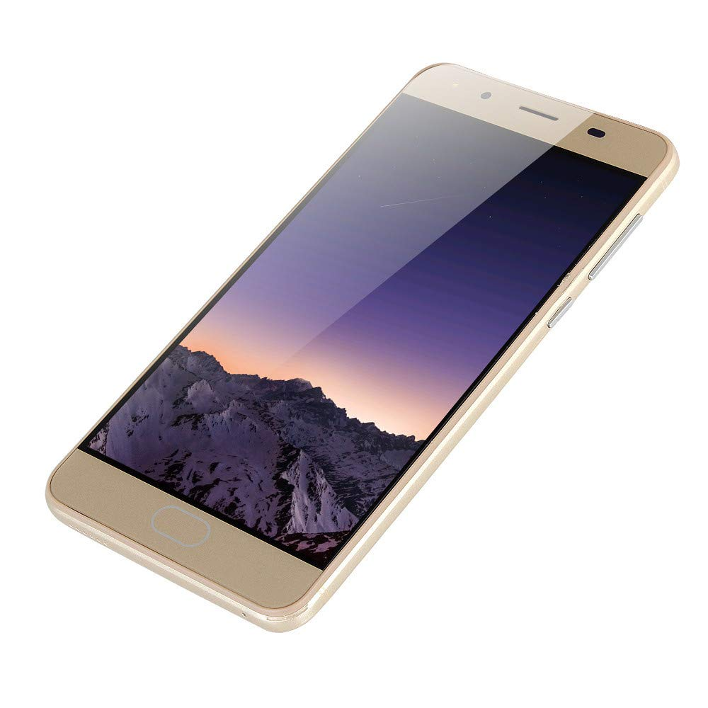 LIEJIE Smartphone Unlocked Cell Phones 5.0'' Ultrathin Android5.1 Quad-Core 512MB+4GB GSM 3G WiFi Dual SIM Dual Camera Smart Cellphone by LIEJIE (Image #3)
