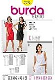Burda 7972 Patron de couture pour robe tailles 40 à 52