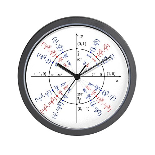 CafePress Unit Circle Clock Unique Decorative 10