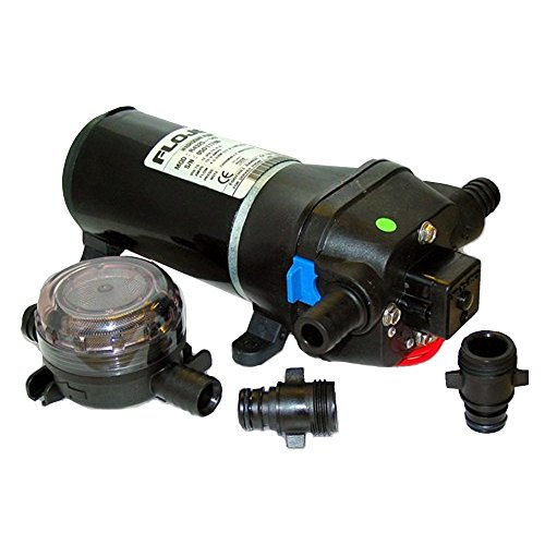 FLOJET 12V 40 PSI HEAVY DUTY WATER PRESSURE PUMP 4.5 GPM >> Latest Version