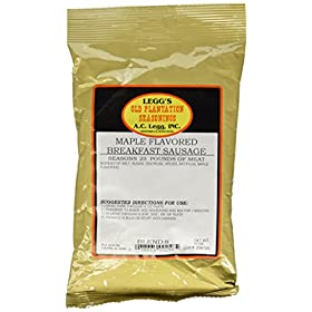 A.C. Legg Maple Flavored Breakfast Sausage