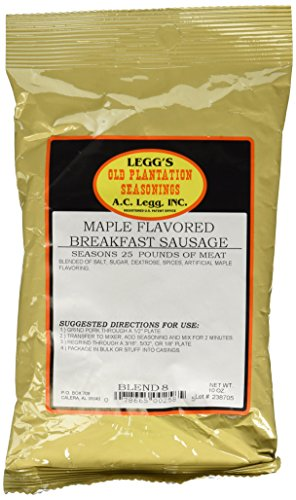 A.C. Legg Maple Flavored Breakfast (Ginger Sausage)