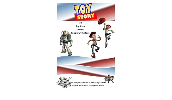 Toy Story Tatuajes Temporales: Amazon.es: Hogar