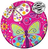 Butterfly Sparkle Party Plate