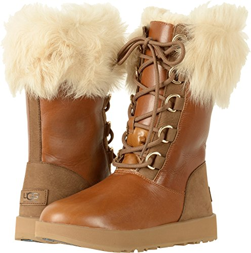UGG Women's Aya Waterproof Chestnut 9 B US by UGG