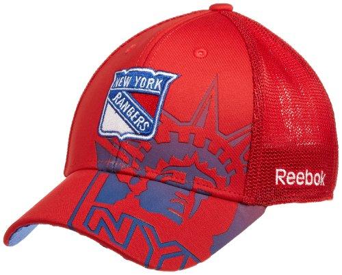 NHL New York Rangers Game Day Structured Flex Cap- Tx75Z, Red, Small/Medium