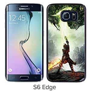 Grace Protactive Dragon Age 3 Inquisition Into The Darkness The Phantoms Android Wallpaper Black Case Cover for Samsung Galaxy S6 Edge